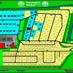 Plan des Campingplatzes
